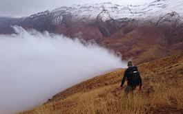 Trekking in Alamut